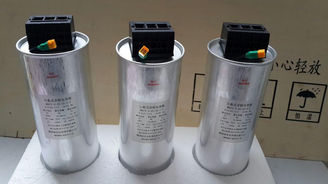圆柱形电力电容器
