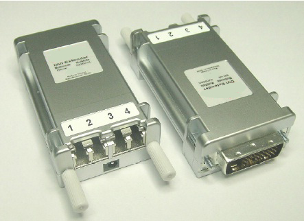 dvi光纤收发器