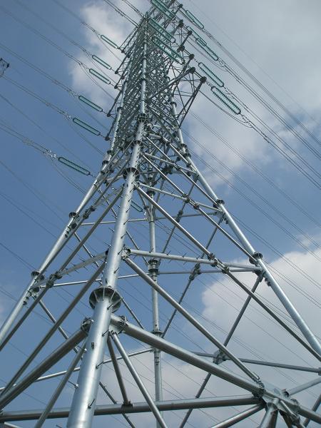 电力线路组合杆塔