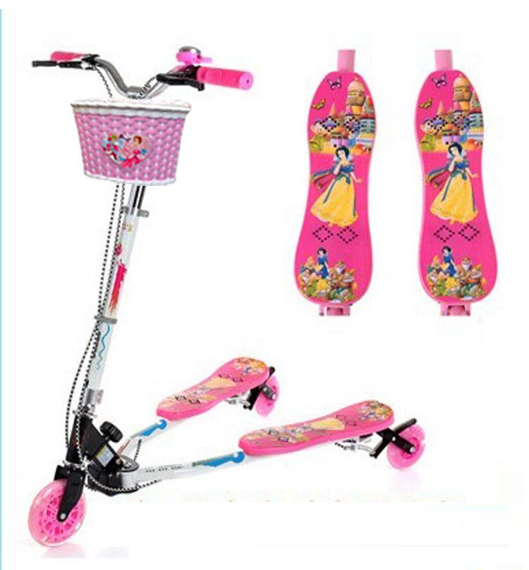 儿童蛙式滑板车蛙式车