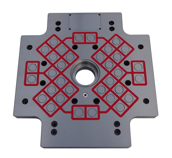 注塑机快速换模系统(磁力模板)